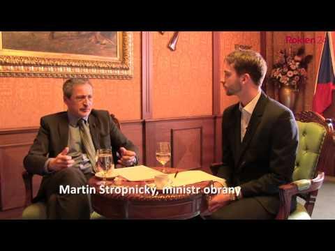 Martin Stropnický: Klasickou vojnu nečekejte