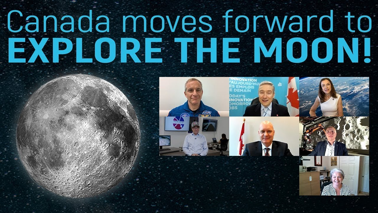 Canada moves forward with plans to explore the Moon!