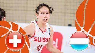 Switzerland v Luxembourg - Full Game - FIBA U16 Women's European Championship Division B 2018