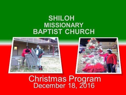 Shiloh Christmas Program December 18 2018 Youtube