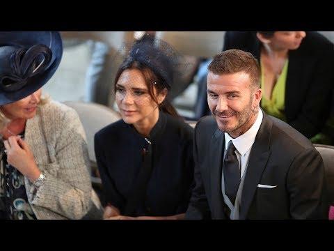 Beckhams, Oprah, Elton John, Idris Elba and more arrive for royal wedding