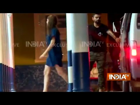 Virat Kohli-Anushka Sharma Caught Dating in West Indies After 2nd Test