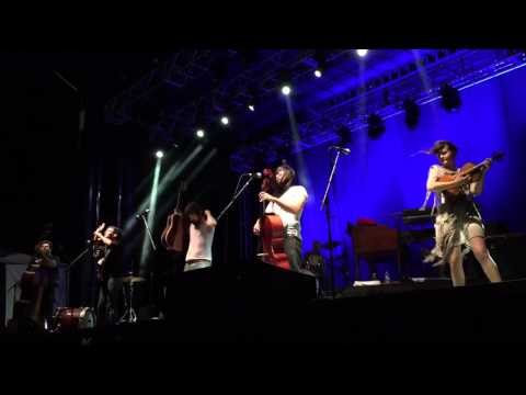 The Avett Brothers perform at Sea Island