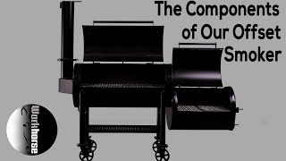 The major components of our offset smokers