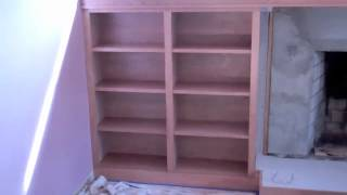 R. E. Price Cabinetry, Shelving & Fireplace Mantel (cherry) Western Ma