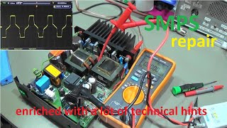 #213 Detailed step by step SMPS Power Supply repair. Loaded with tons of repair tips.