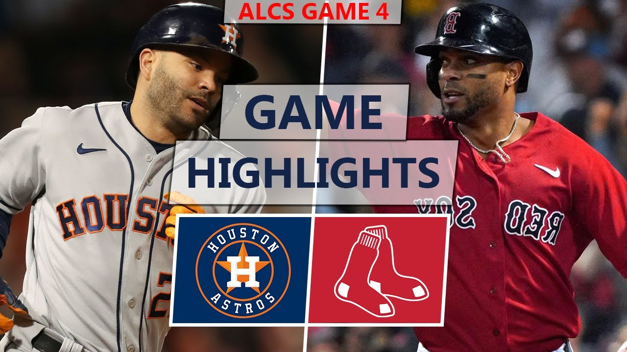 Download Houston Astros vs. Boston Red Sox Highlights | ALCS Game 4 (2021)
