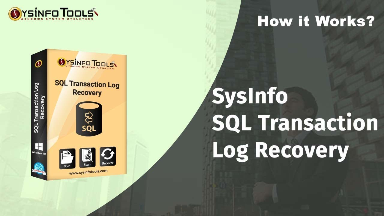 SQL Log Analyzer software to scan, repair & open SQL Transaction log files  and LDF files
