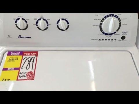 Cheap 289 Amana Washing Machine Review YouTube