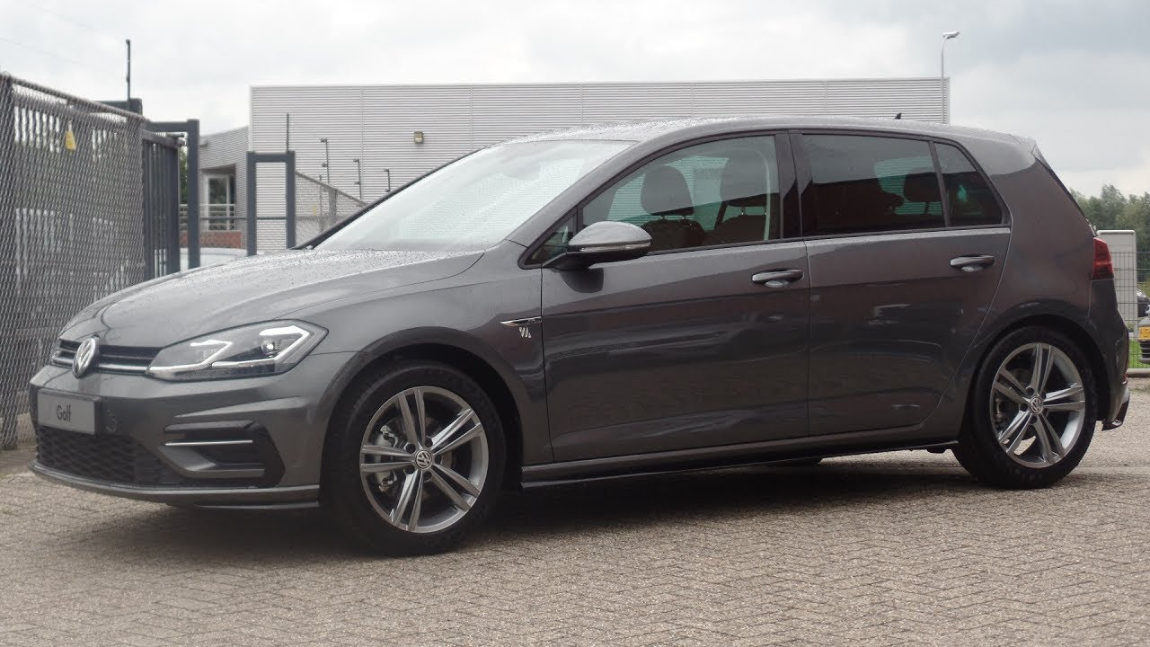 Volkswagen New Golf Gp R Line Indium Grey 2017 2018