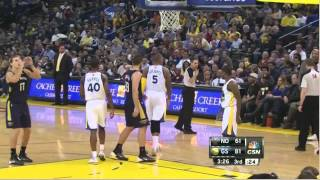 Lou Amundson terrible free throw Warriors-Pelicans 12-17-13