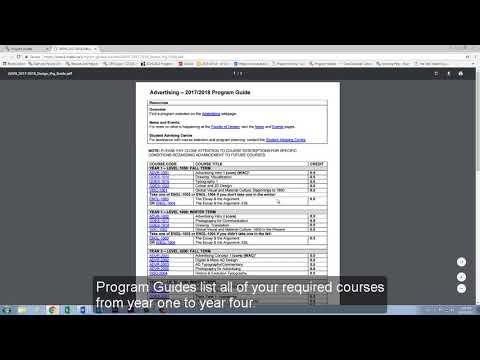 Video 1 - How to Access Program Guides