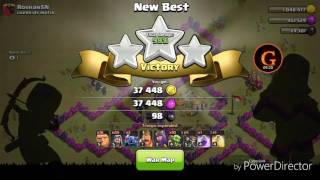 Clash of Clans 6 stars at war