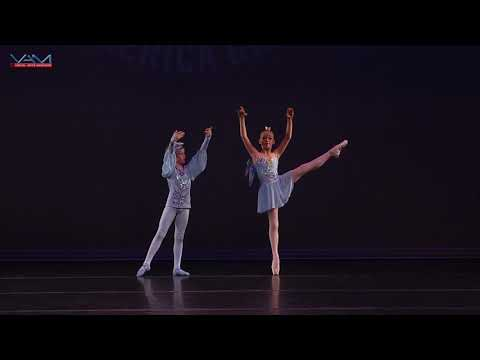 Whitney Ross 10 years old and Peter Zakonov 11years old perform The Sleeping Beauty Pas de Duex