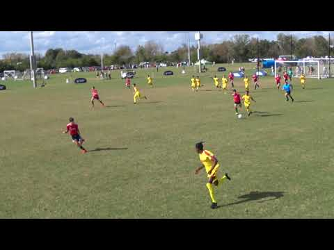 AFC Lightning 03 Gold  Vs  FC Copa Academy 03B  12/29/19  ( First Half )