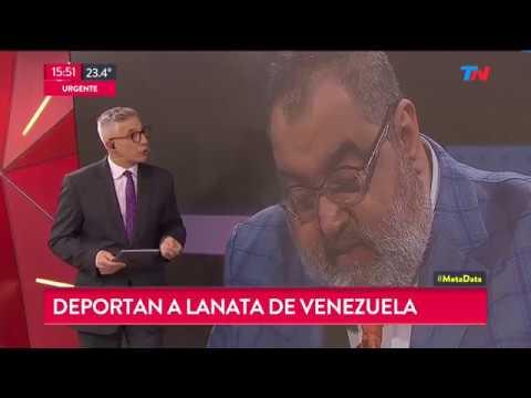 Deportaron a Jorge Lanata de Venezuela