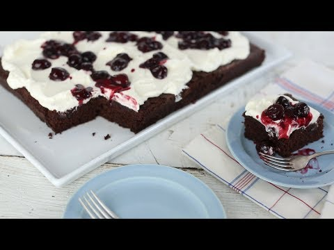 Download Youtube: Dark Chocolate Cherry Cake - Everyday Food with Sarah Carey