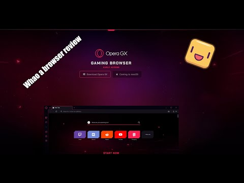 Opera GX Browser Review First Time!!