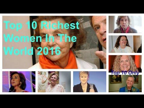 Top 10 Richest Women In The World 2016 | Top 10 Richest Women In The World