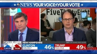 Trump a \'Narrow Favorite to Win Electoral College\': Nate Silver | Election 2016