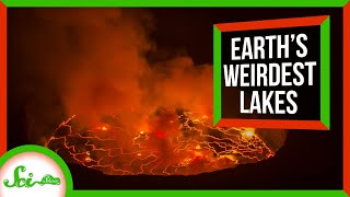 5 of Earth's Weirdest Lakes | Compilation