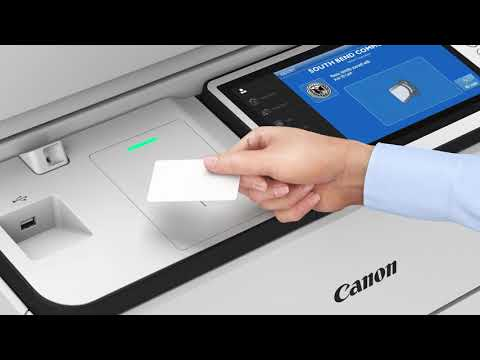 How to Register your ID for Canon Secure Print