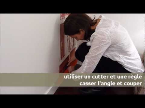 comment poser du papier peint intiss ohmywall youtube. Black Bedroom Furniture Sets. Home Design Ideas