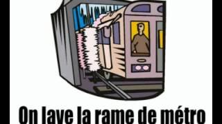 урок французского языка = в метро