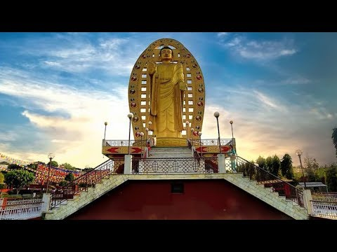 Buddha Temple Dehradun Uttarakhand (awesome) | New travel video 2018 | Mobile videography