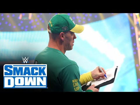 John Cena signs contract to challenge Roman Reigns at SummerSlam: SmackDown, July 30, 2021