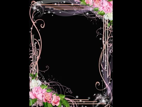 Frame Templates - FREE PSD LOVE FRAME   DOWNLOAD PHOTO FRAME PSD WITH ROSES (Download & Tutorial)