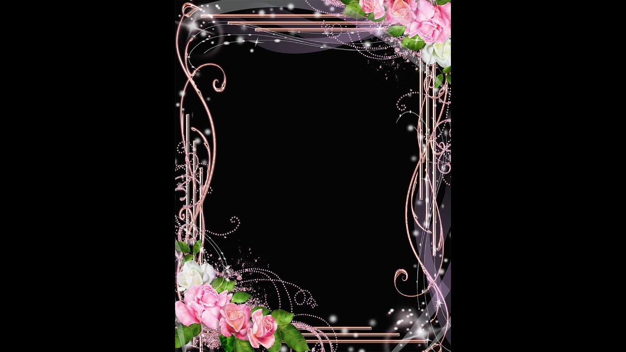 Charming Frame Templates   FREE PSD LOVE FRAME DOWNLOAD PHOTO FRAME PSD WITH ROSES ( Download U0026 Tutorial)   YouTube