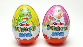 2x Kinder Maxi Surprise Egg with Candy and Toys