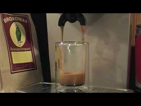 double espresso with gaggia espresso dose youtube. Black Bedroom Furniture Sets. Home Design Ideas