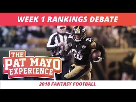 2018 Fantasy Football — Week 1 Rankings, Starts, Sits, Sleepers and Busts