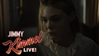 Elle Fanning on Colin Farrell's Love of Hamburgers
