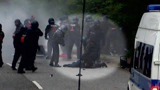 Bundespolizisten vs Schwarzer Block: Streit um G20-Einsatz