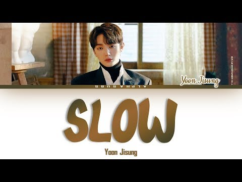 Free Download Yoon Jisung [윤지성] - Slow (쉼표) (lyrics By Lee Daehwi And Yoon Jisung) Lyrics/가사 [han|rom|eng] Mp3 dan Mp4