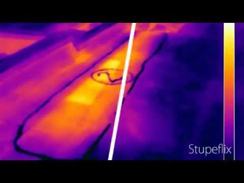 Infrared Scans for Flat Roofs, Roof Scan IR