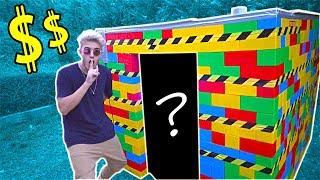 HE CREADO UNA MANSION DE LEGO DE LUJO 💲!! 24 HORAS EN LA MANSION GAMER?* [Logan G]