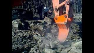 Рыхлитель DOOSAN 500  в работе(, 2013-02-07T12:53:37.000Z)