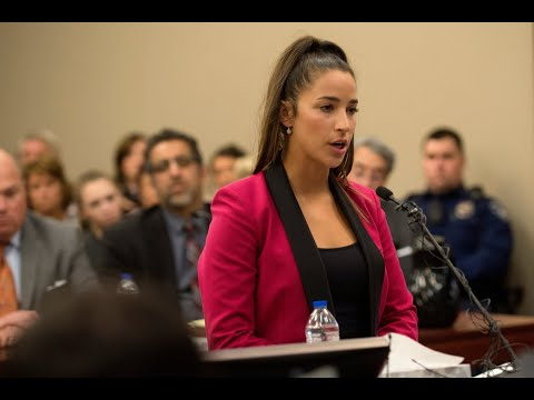Olympian Aly Raisman makes fierce speech against Larry Nassar in court