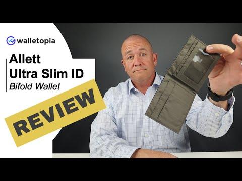 Allett's Ultra Thin ID wallet feels like your pocket is empty!