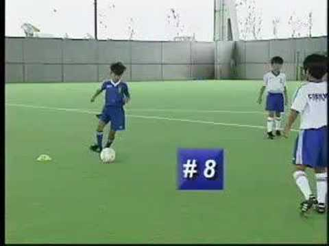 Coerver Coaching - Soccer Tips - Change of Direction 7 - 9