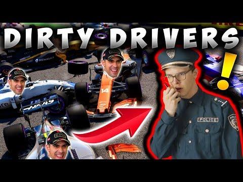 F1 2017 Dirty Driver Patrol