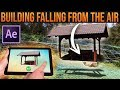 BUILDING FALLING FROM THE AIR│After Effects VFX Tutorial (Magic Editing)