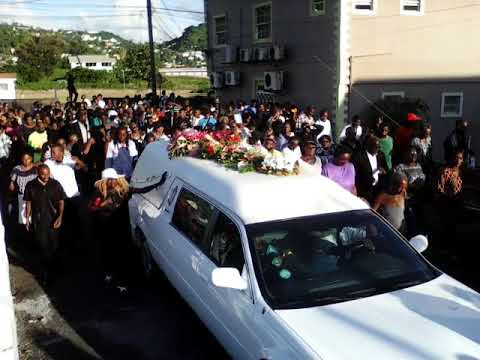 Hundreds Turn Out To Fallen Calypso Queen's Funeral