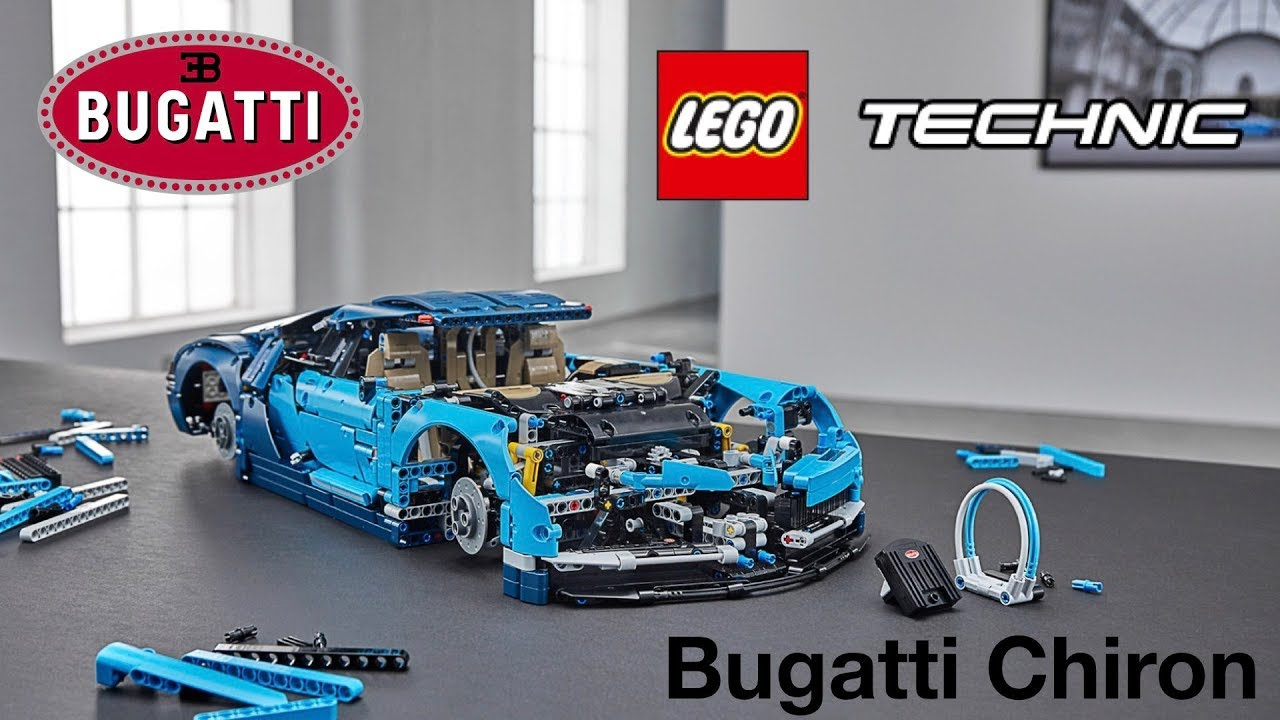 lego technic bugatti chiron 42083 release youtube. Black Bedroom Furniture Sets. Home Design Ideas