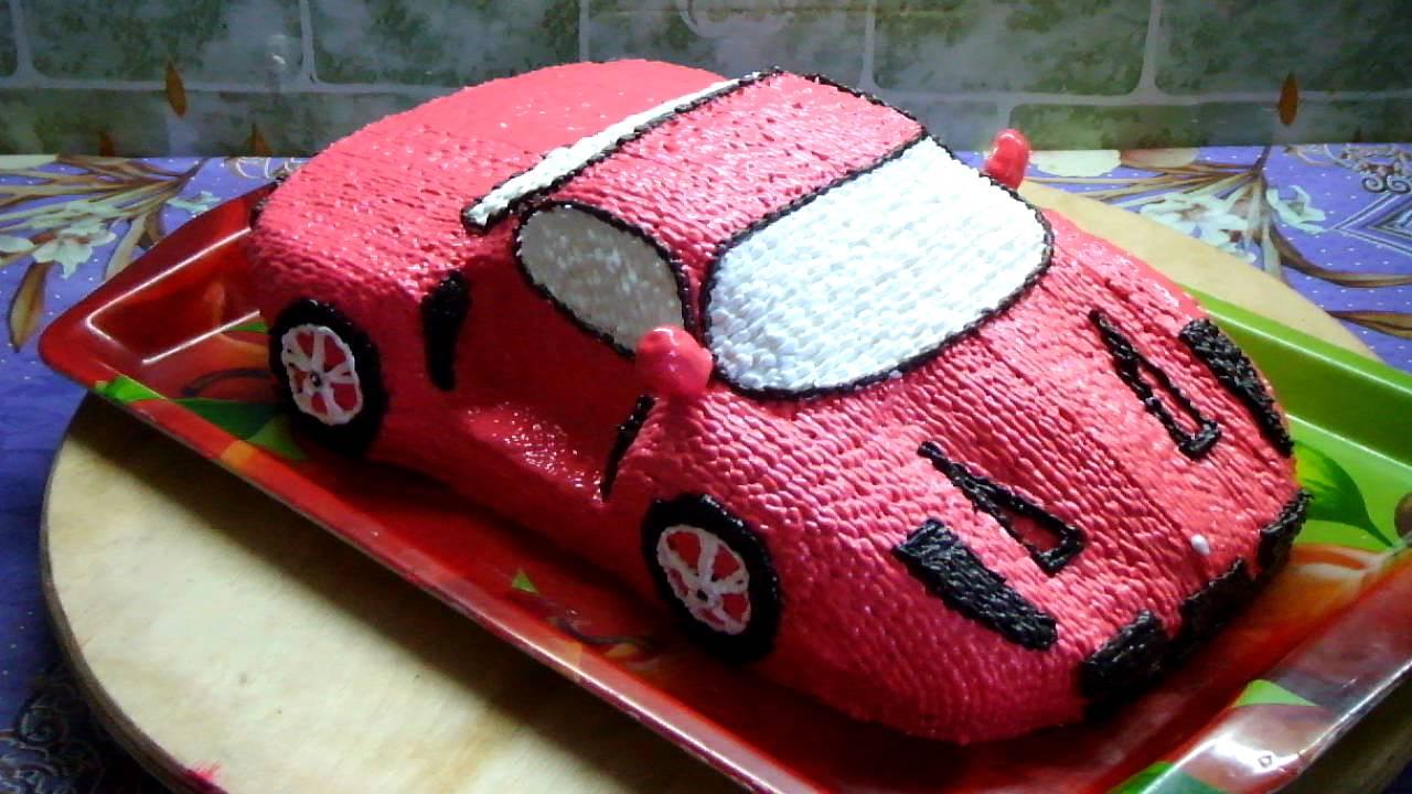 машинка торт фото