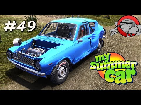 My Summer Car - ПРОБНЫЙ ЗАЕЗД В РАЛЛИ (S2E49)